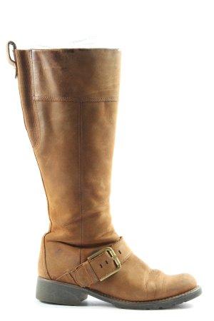 Clarks High Heel Stiefel braun Casual-Look