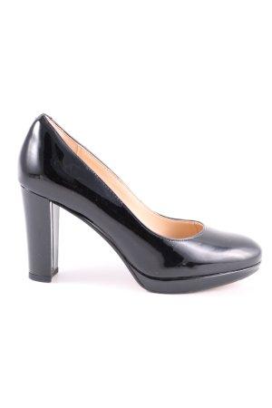 Clarks High Heels schwarz Business-Look