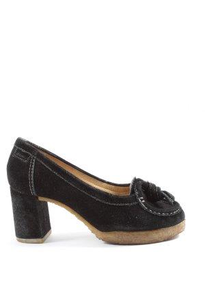 Clarks High Heels schwarz Casual-Look