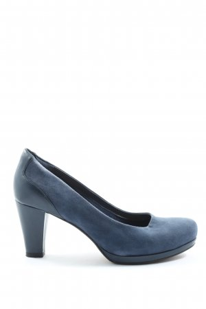 Clarks High Heels blue business style