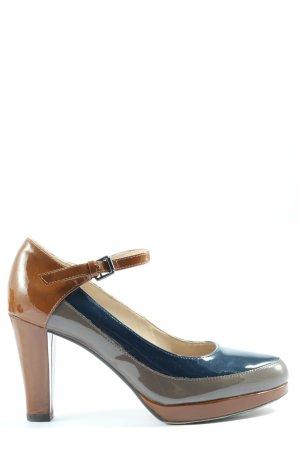 Clarks Chaussure à talons carrés multicolore style d'affaires