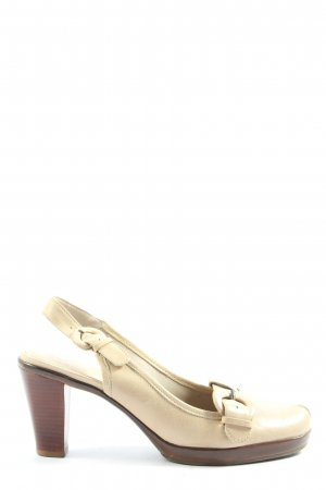 Clarks Slingback-Pumps creme Casual-Look