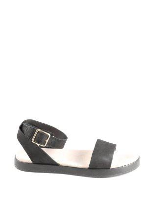 Clarks Comfortabele sandalen zwart casual uitstraling