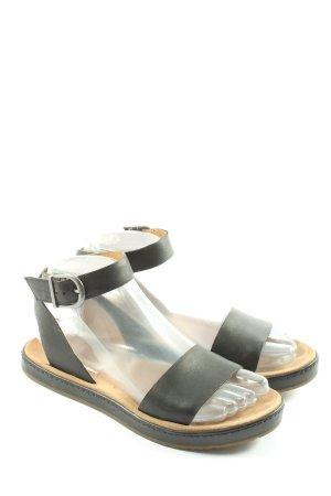 Clarks Sandales confort noir style décontracté