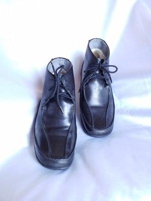 Clarks Patucos con cordones negro