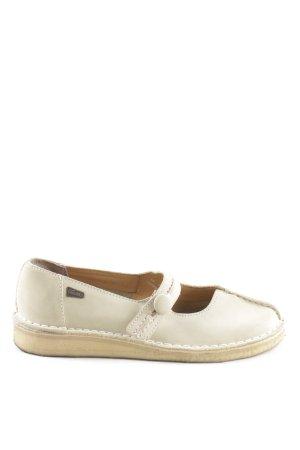 Clarks Zapatos Mary Jane blanco puro look casual