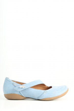 Clarks Mary Janes blue casual look