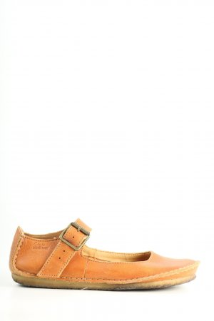 Clarks Zapatos Mary Jane naranja claro look casual
