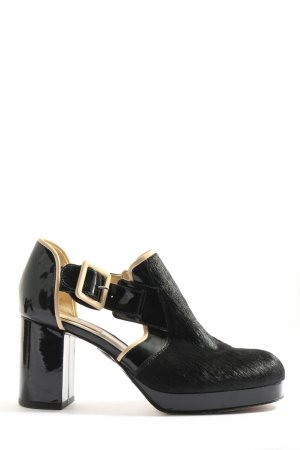 Clarks Stivaletto cut out nero elegante