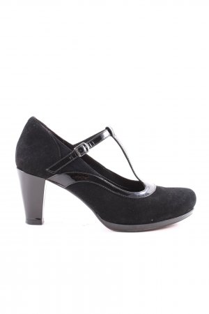 Clarks Mary Jane Pumps schwarz Casual-Look