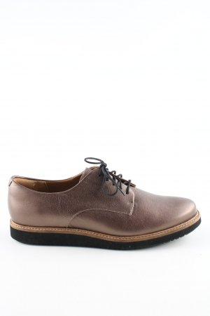 Clarks Oxfords brown business style