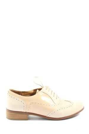 Clarks Chaussure Oxford blanc cassé style décontracté
