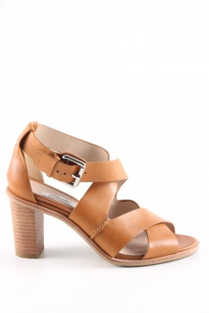Clarks Strapped pumps light orange casual look