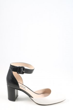 Clarks Strapped pumps black-white business style