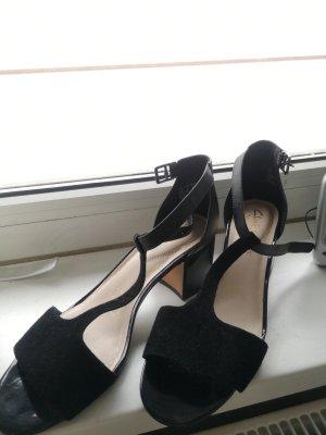 Clarks sandalen 40 schwarz