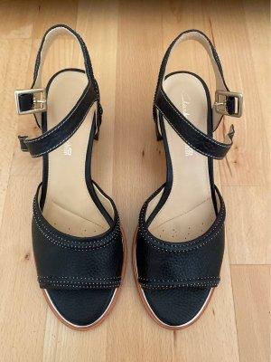 Clarks Sandales confort noir-brun noir cuir