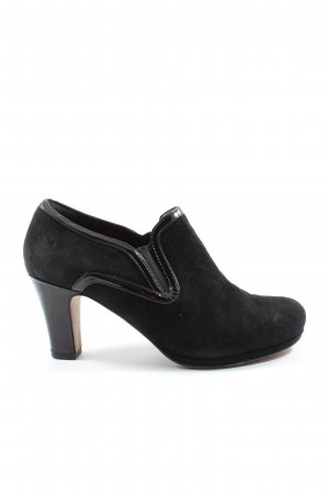 Clarks Slip-on Shoes black elegant