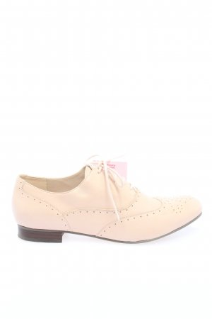 Clarks Derby creme Business-Look