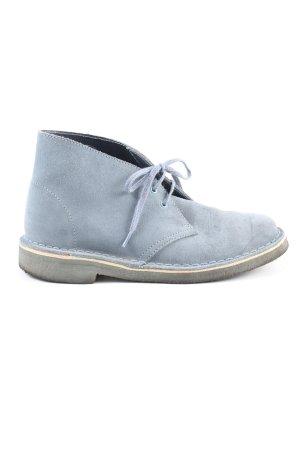 Clarks Schnürschuhe blau Casual-Look
