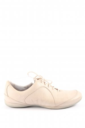 Clarks Lace-Up Sneaker nude casual look