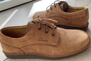 Clarks Schuhe Camel/Braun Gr.44 Neuwertig