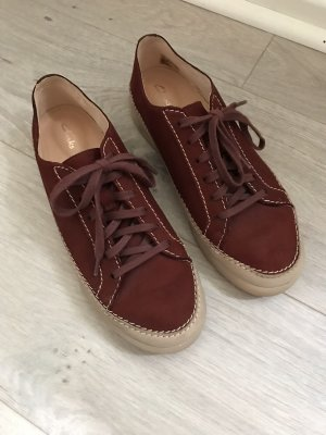 Clarks Lace-Up Sneaker bordeaux-brown red