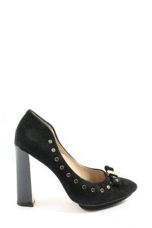 Clarks Spitz-Pumps schwarz Elegant