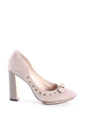 Clarks Spitz-Pumps pink Casual-Look