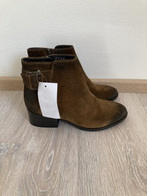Clarks Stiefelette Boots braun Leder Gr. 37,5
