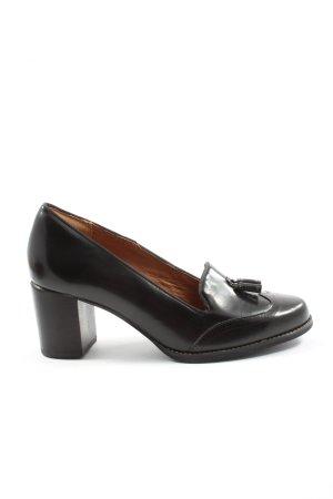 Clarks Loafers zwart casual uitstraling