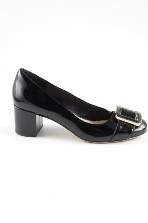 Clarks Loafers zwart zakelijke stijl