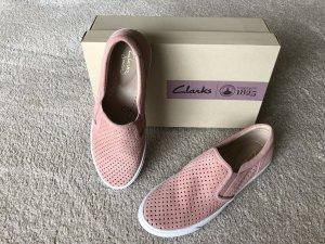 Clarks Basket slip-on rosé