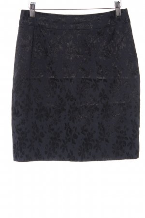 Clasen Bleistiftrock schwarz-dunkelblau Elegant