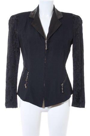Clasen Kurz-Blazer schwarz-dunkelblau Elegant