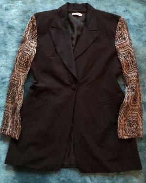 Clasen Tuxedo Blazer black-oatmeal