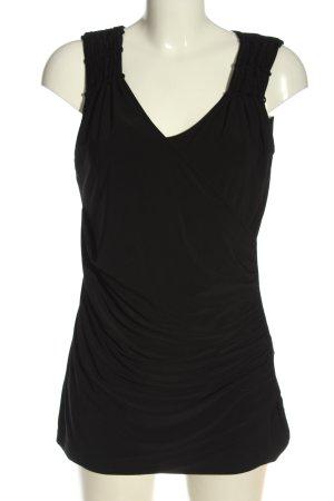 Class Sleeveless Blouse black casual look