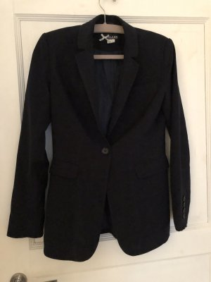 Class International Long Blazer dark blue