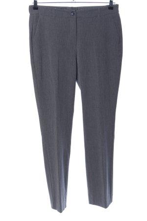 Class International Spodnie garniturowe jasnoszary Melanżowy W stylu biznesowym