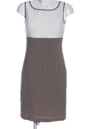 Class International Ołówkowa sukienka jasnoszary-biały W stylu casual
