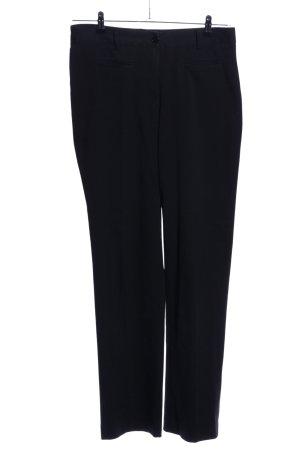 Class International Spodnie z zakładkami czarny W stylu biznesowym