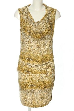 Class International Sukienka z dżerseju bladożółty-w kolorze białej wełny