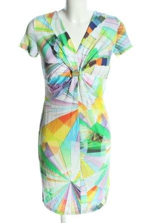 Class International Sukienka z krótkim rękawem Na całej powierzchni