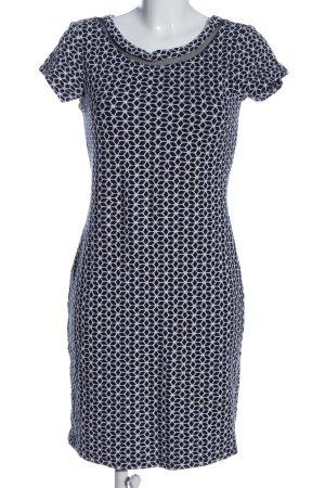 Class International Sukienka z krótkim rękawem czarny-biały Graficzny wzór