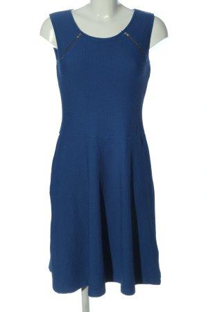 Class International Sukienka z dżerseju niebieski W stylu casual