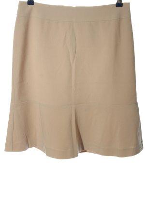 Class International Rozkloszowana spódnica w kolorze białej wełny