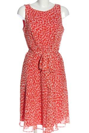 Class International Sukienka koszulowa kremowy-czerwony Na całej powierzchni