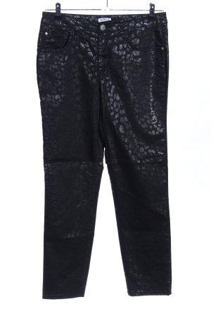 Class International Jeansy z prostymi nogawkami czarny Na całej powierzchni