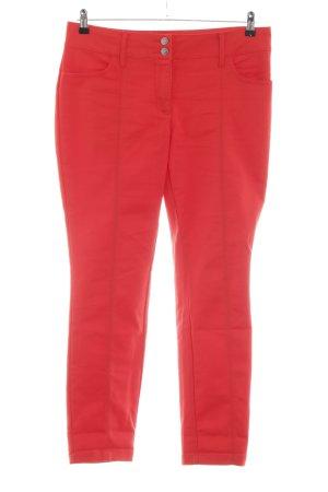 Class International Spodnie ze stretchu czerwony W stylu casual