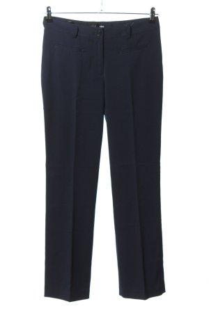 Class International Spodnie ze stretchu niebieski W stylu biznesowym