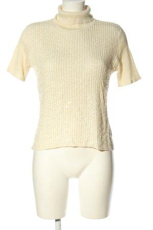 Class International Koszulka z dzianiny w kolorze białej wełny W stylu casual